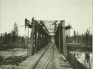 Вид железнодорожного моста вблизи станции Култук