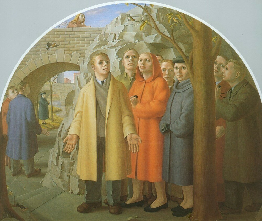 the subway by george tooker