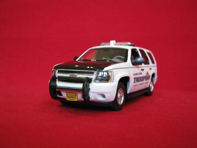 US police car
