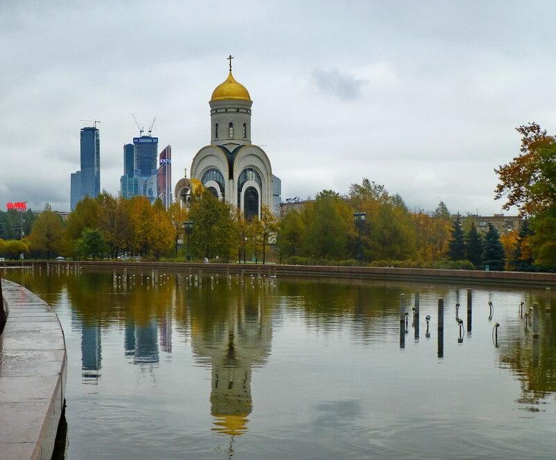 Церковь Георгия Победоносца на Поклонной горе в Москве