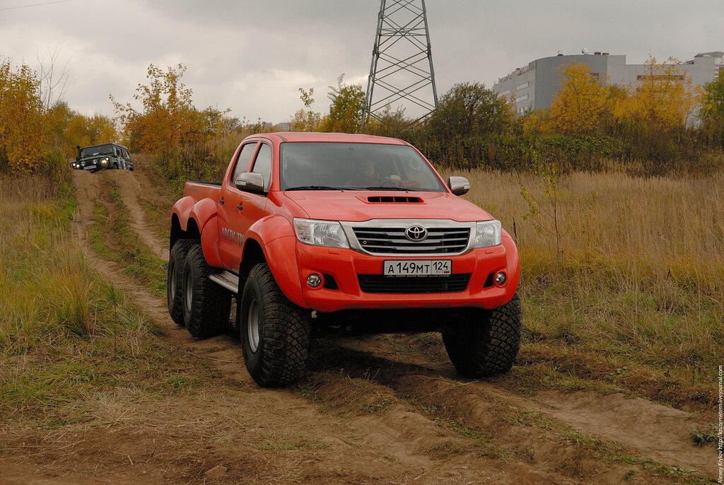 AT33 < Hilux < Toyota < Muutossarjat < Arctic Trucks