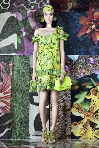 Roberto Cavalli Resort 2012 Model: Kinga Rajzak.