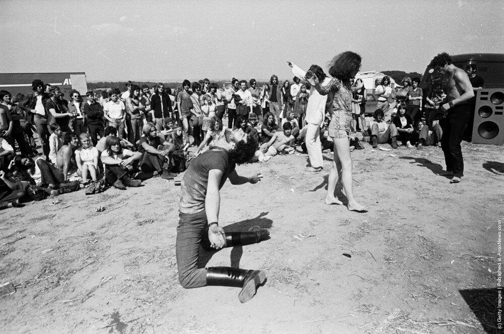 Hippies.Хиппи фестиваль