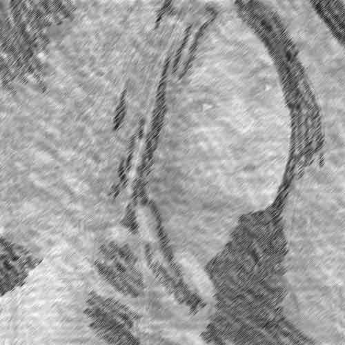 Однонаправленная штриховка в фотошопе - мастер-класс