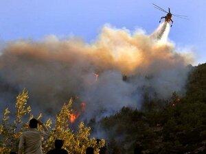 Приморские авиапожарные оказывают помощь в тушении лесных пожаров в Архангелькой области