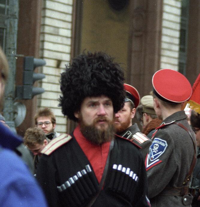 36. Союз демократических сил Митинг 7 ноября в Москве