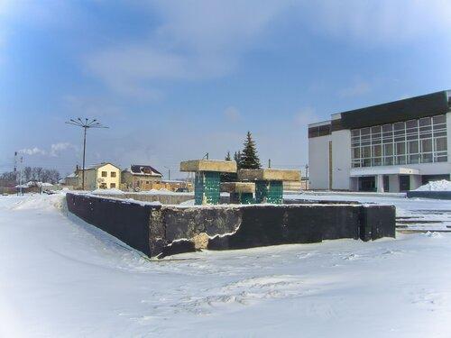 Заброшенный фонтан у ДК Юбилейный