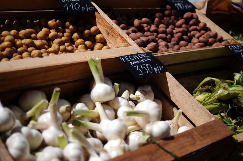 Фермерский рынок на Стрелке
