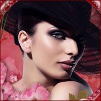 романтические гламурные девушки аватары