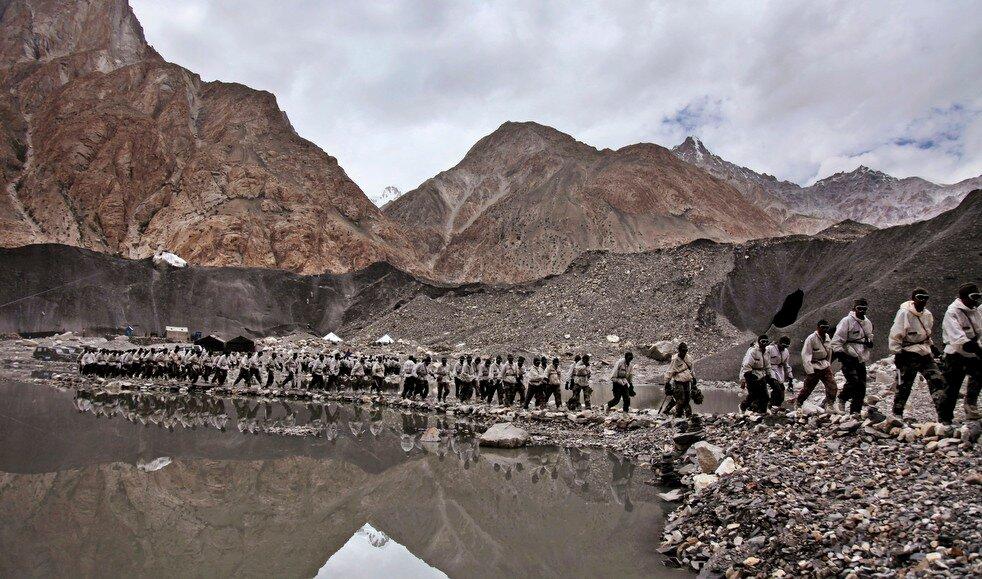 India Kashmir Glacier