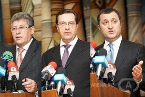 Гимпу Лупу и Филат — Альянс за Евро