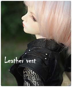 leather vest for minifee