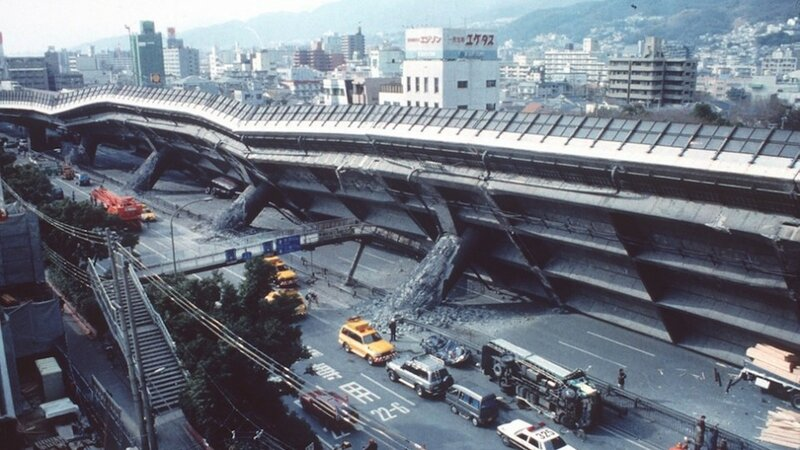 earthquake hits kobe japan 1995