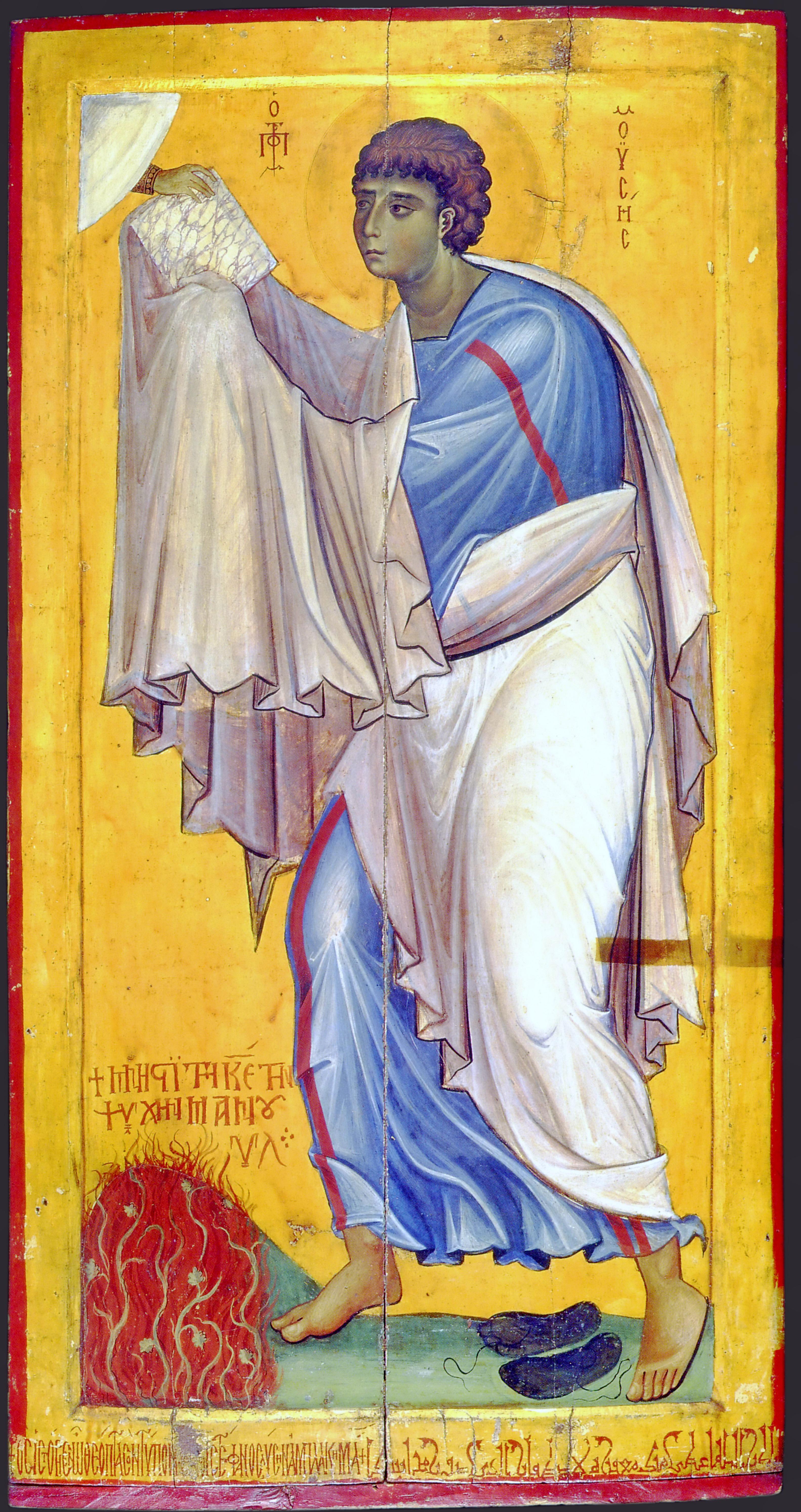 Святой Пророк Моисей. Икона. Вторая половина XI века. Монастырь Св. Екатерины на Синае.