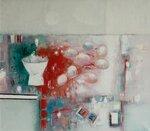"""""""Предчувствие Пасхи"""", холст, масло 70x80 2010"""