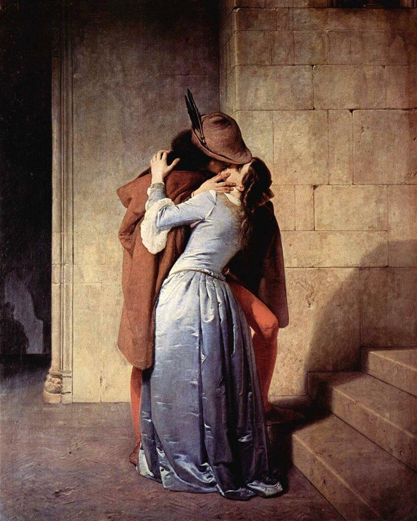 Франческо Hayez Поцелуй, 1859