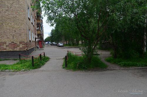 Фотография Инты №8087  Юго-восточный угол Воркутинской 8 02.07.2015_17:16