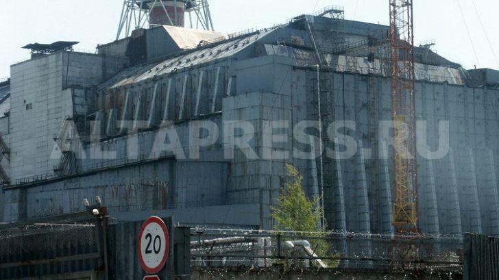 Саркофаг на Чернобыле