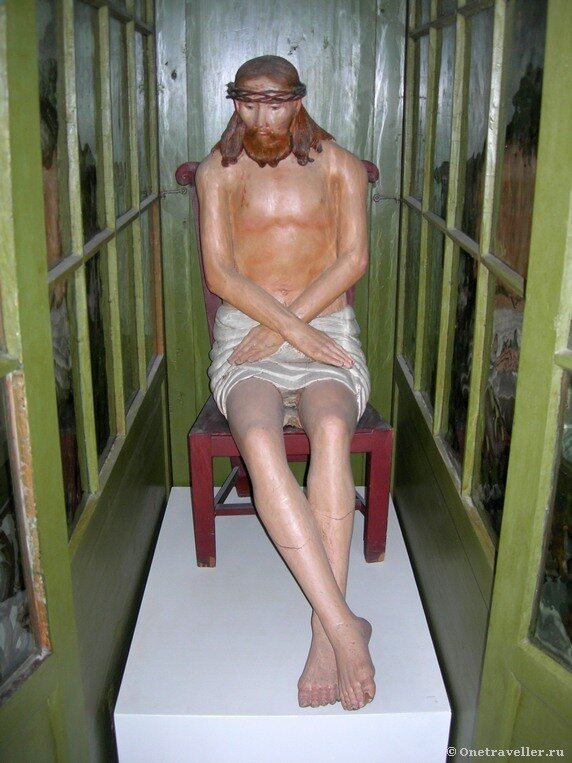 Пермская государственная художественная галерея. Христос в темнице (XVIII век)
