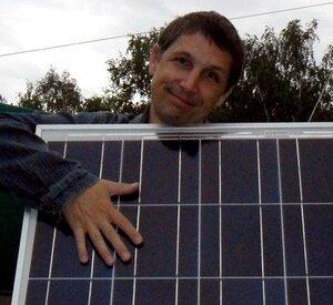 Большая солнечная батарея даёт больше энергии