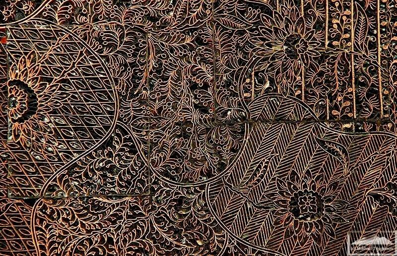 В Музее текстиля (Джакарта)