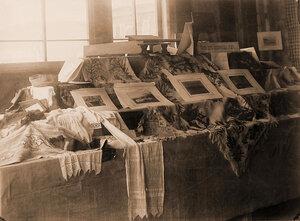 Работы детей Зерентуйского приюта (для детей ссыльно-каторжных).
