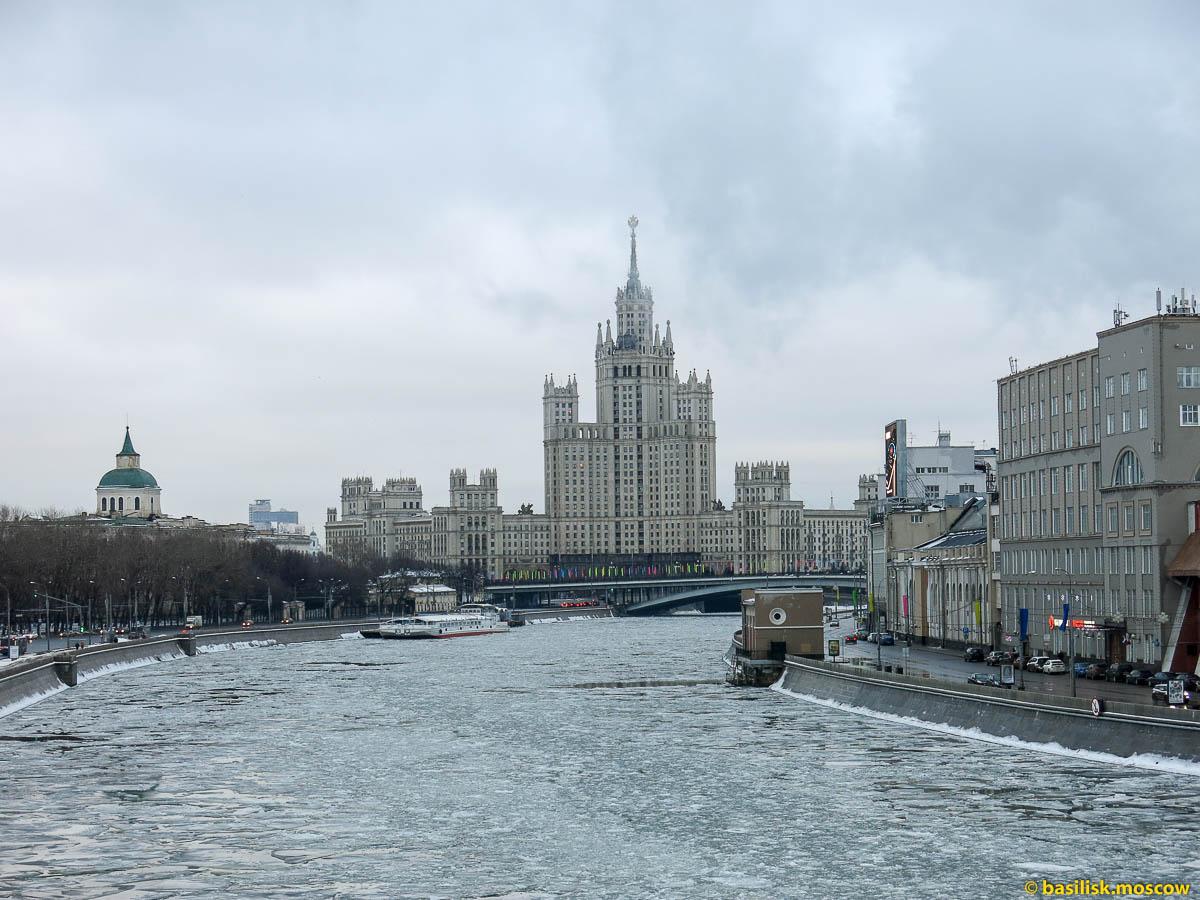Зимняя Москва. 2 января 2015.