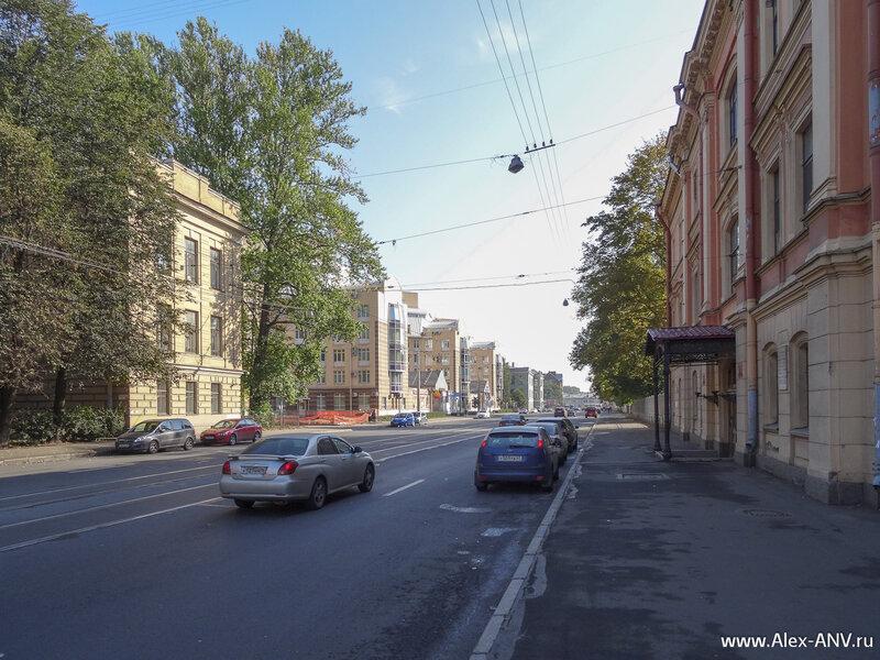 Боткинская улица. Здесь и завершилась моя очередная прогулка.