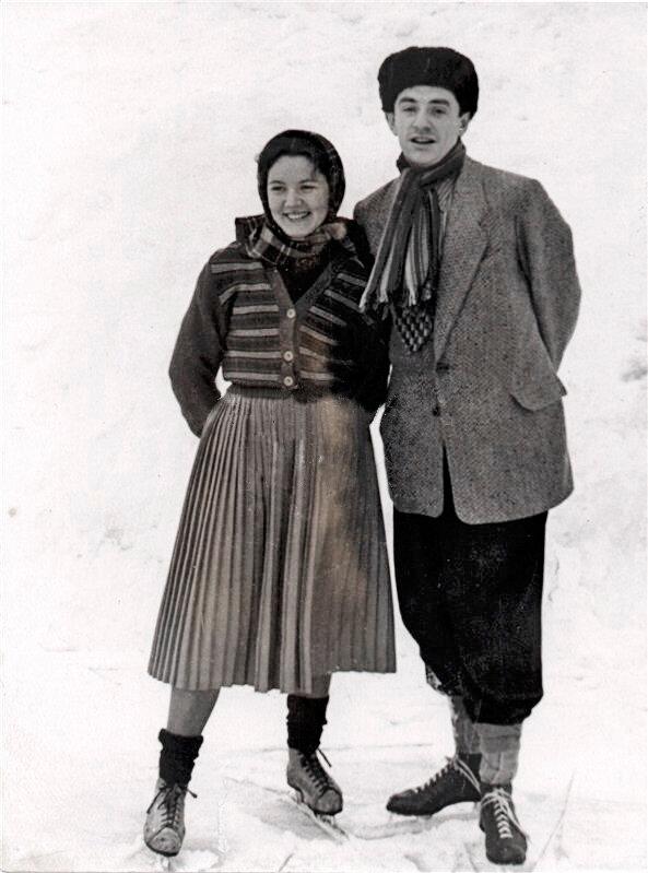 Нина Лапшинова, Марк Захаров