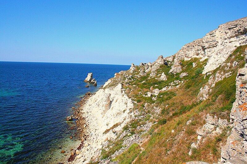 Крым, берег Тарханкута