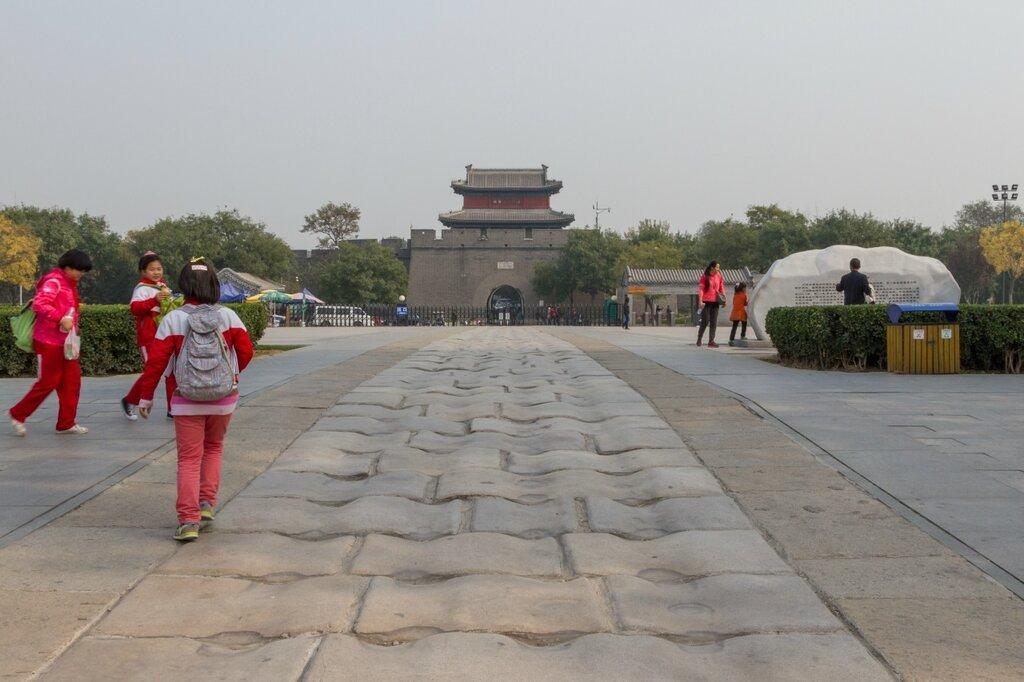 Плиты моста Лугоу и крепость Ваньпин