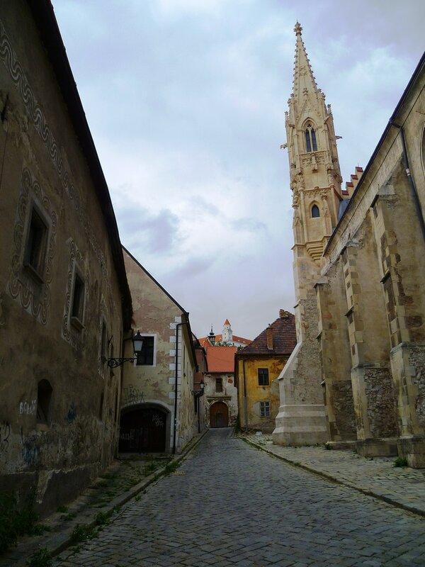 Братислава, церковь Кларисок (Bratislava Clares Church)