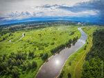 Река Молога. Поселок Максатиха. 2