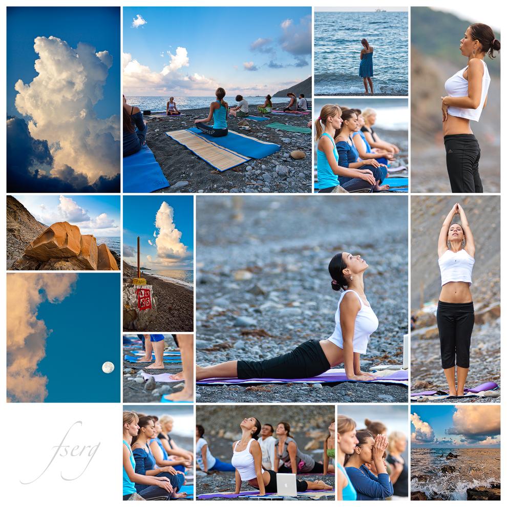 Утренний йога мастер-класс, тема:
