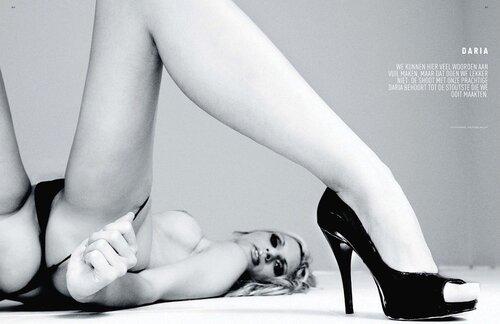 Daria in Playboy Netherlands may 2011