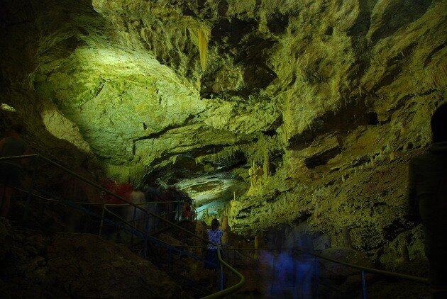 Новоафонская пещера (Абхазия)border=