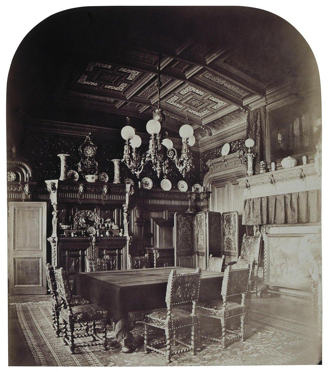 Столовая в доме И.Ф. Паскевича на Английской набережной