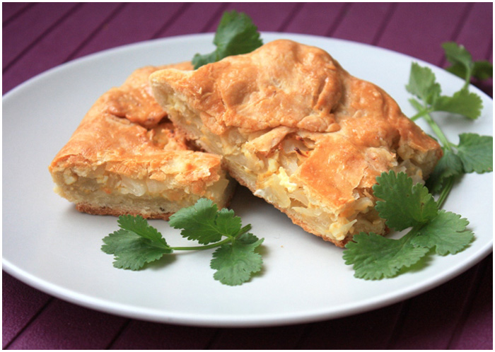 капустный пирог фото рецепт