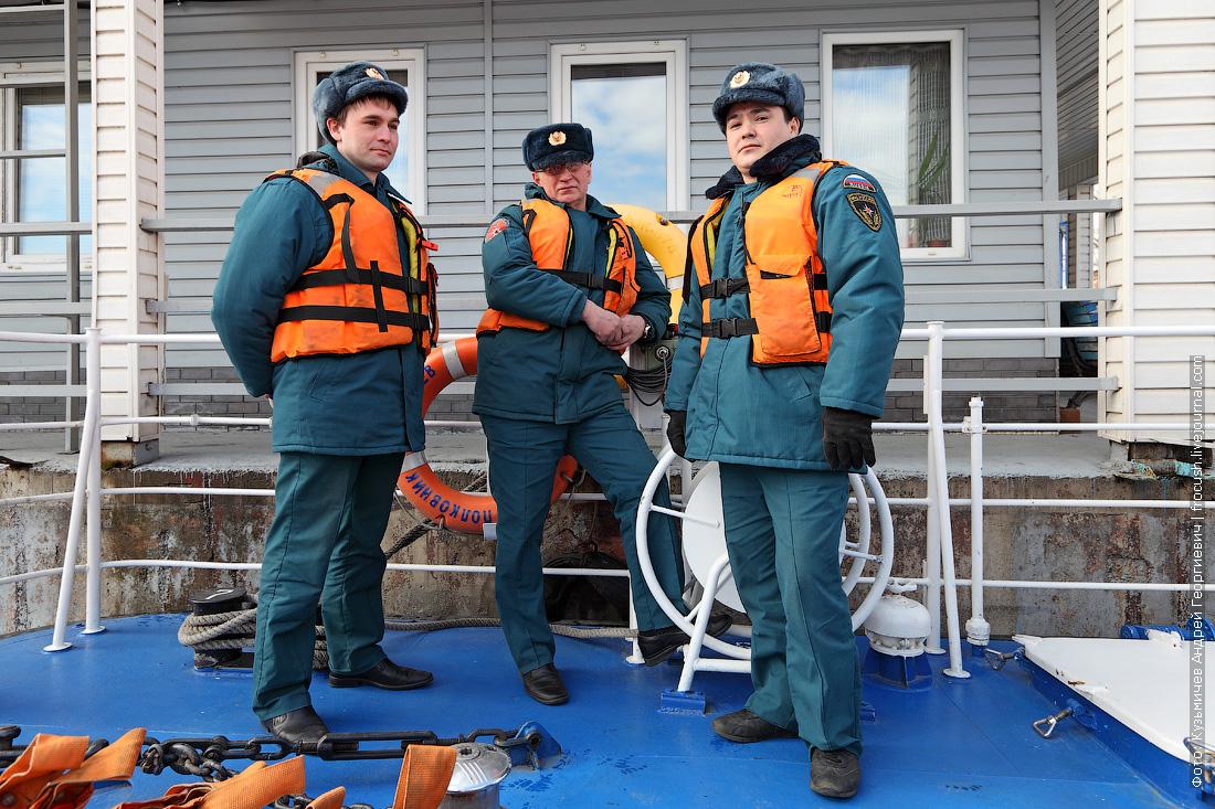 экипаж многоцелевой пожарно-спасательный корабль Полковник Чернышев фото