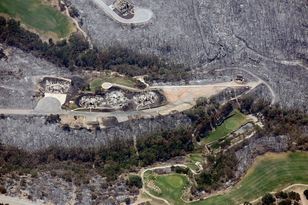 Drought Wildfires Homes