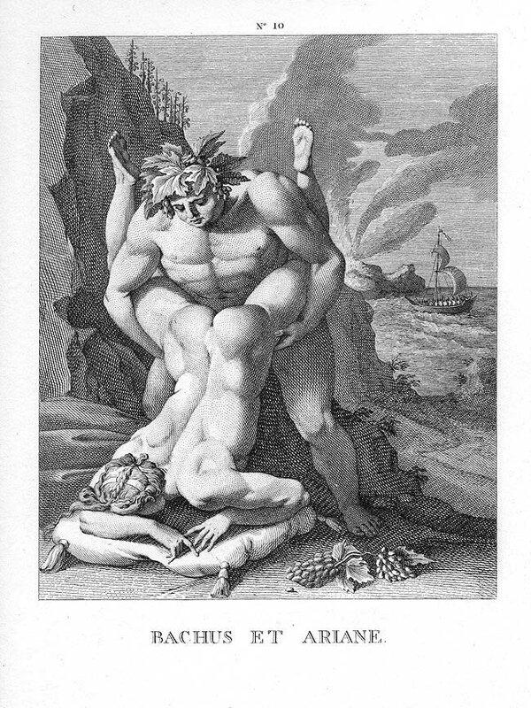 Вакх и Ариадна. Поза 6 из издания Вальдека. Возможно, одна из пропавших поз издания 1550.jpg