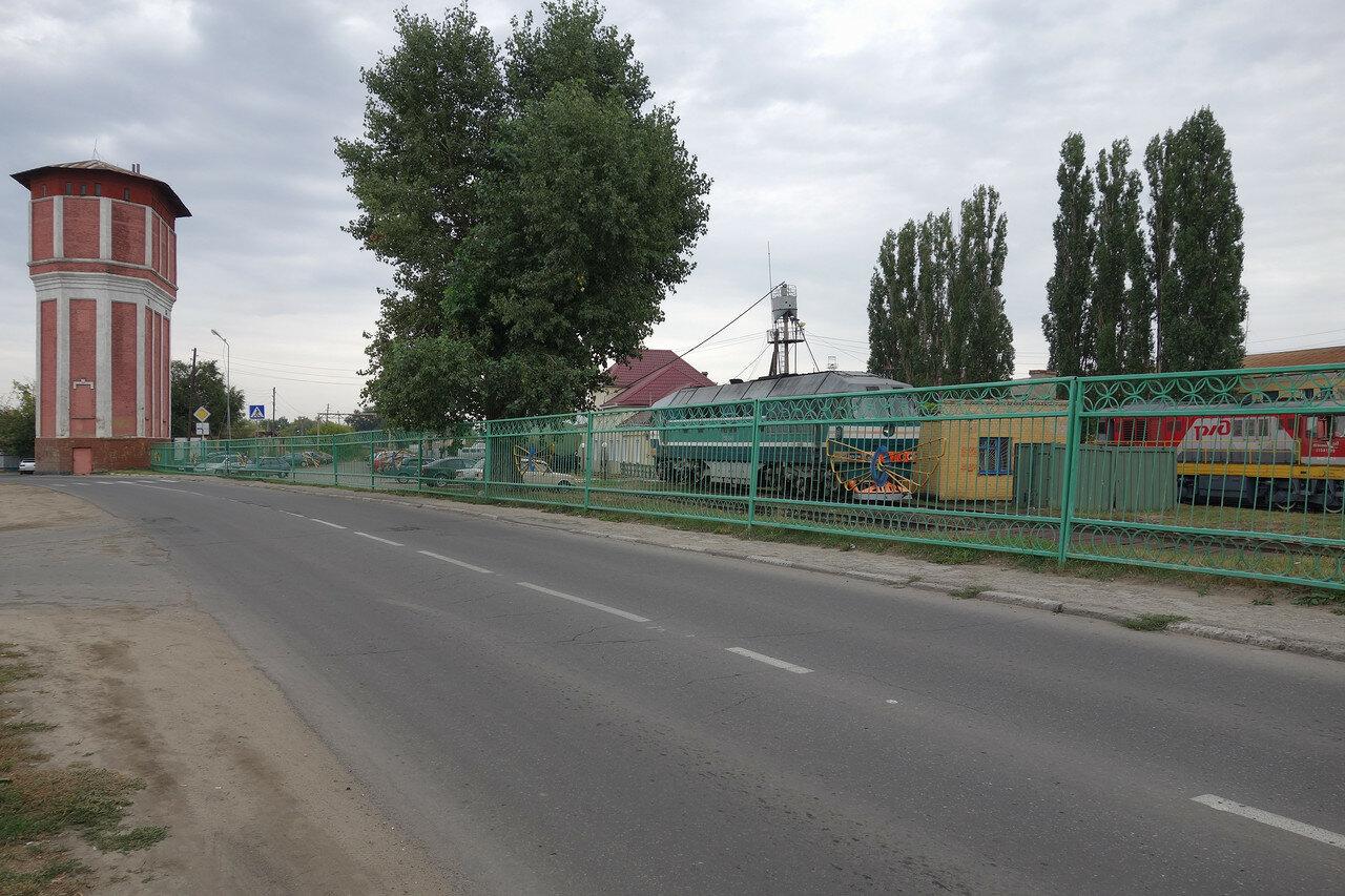 дореволюционная водонапорная башня у станции Грязи-Волгоградские