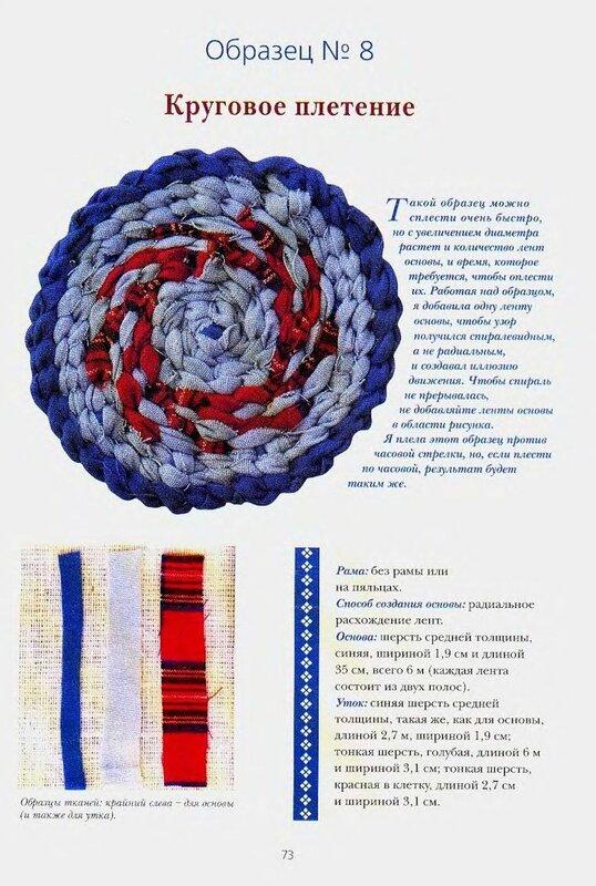 Способы плетения из ткани 181