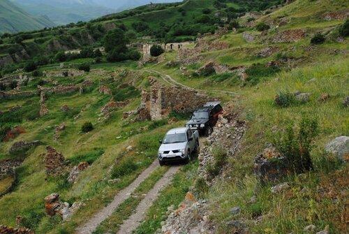 Экспедиция в развалинах селения Муруш