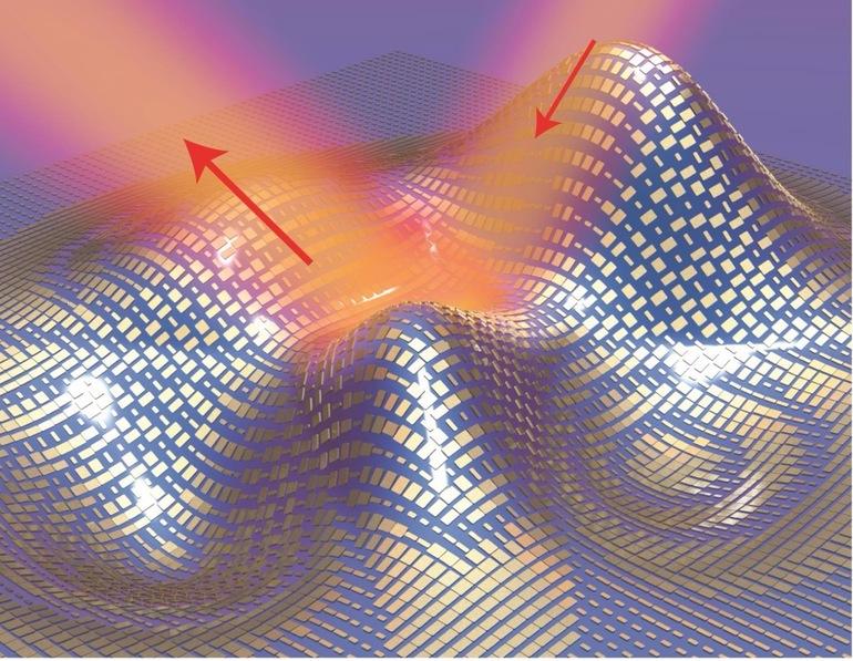 Новый плащ делает невидимыми маленькие 3D объекты
