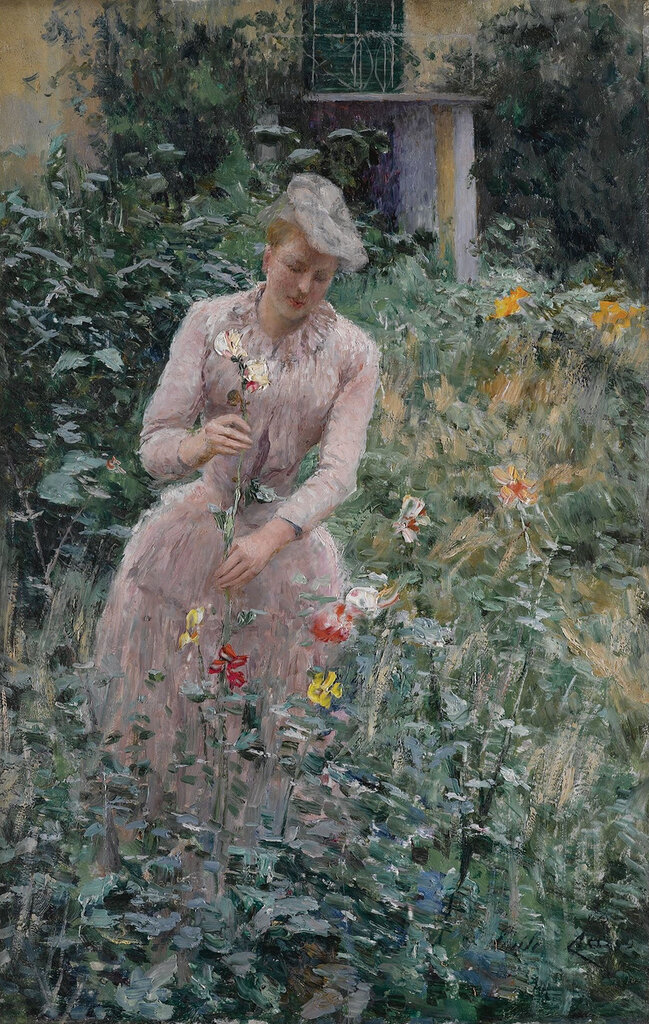 Emile Claus - In the Garden.jpeg