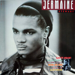 Jermaine Stewart ‎– Say It Again (1988) [10 Records, 208 710]