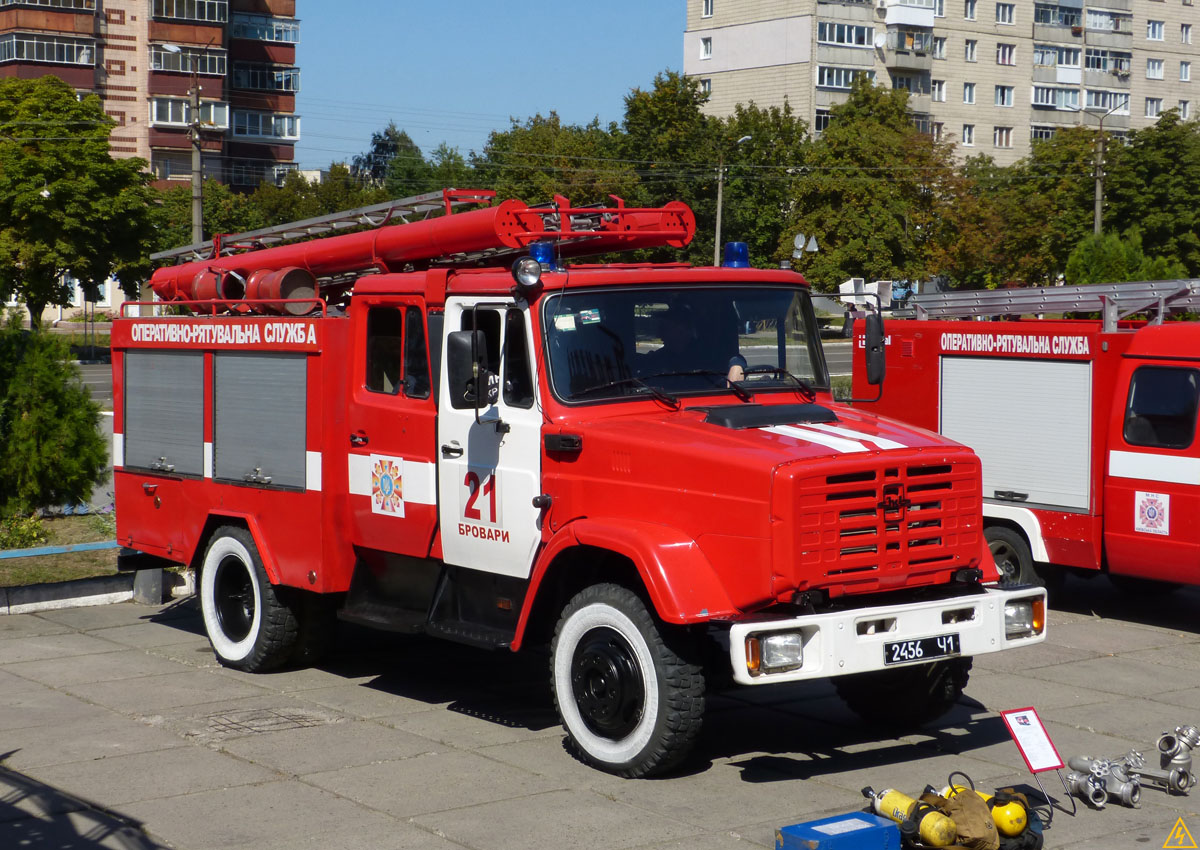 Бровары (часть 2): Город и выставка пожарной техники