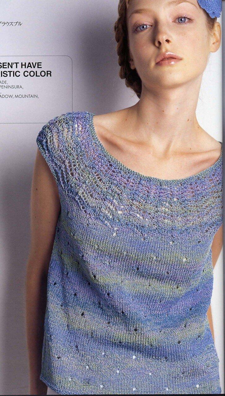 вязание спицами схемы вязания свитеров с круглой кокеткой
