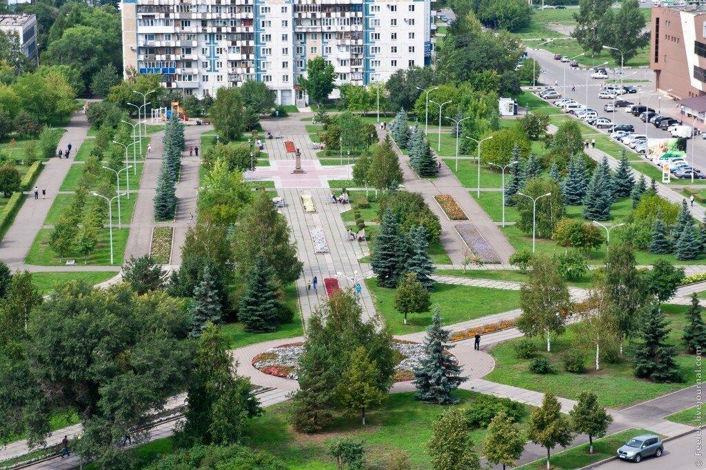 Новокузнецк - Красноярск с высоты и кое-что еще